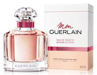 GUERLAIN MON GUERLAIN BLOOM of ROSE Eau De Toilette  женские