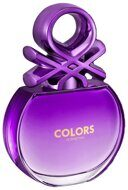 BENETTON  COLORS  PURPLE Eau de Toilette 80мл TESTER женские