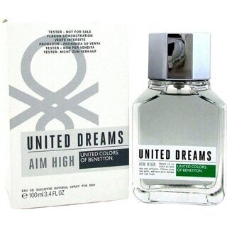 BENETTON united  dreams UD AIM HIGT  MEN   Eau de Toilette Мужской TESTER 100мл
