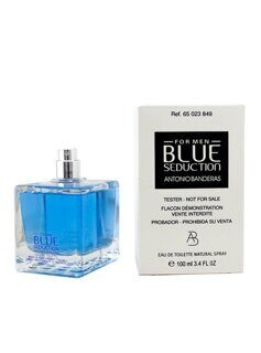 ANTONIO BANDERAS  BLUE SEDUCTION  Eau de Toilette TESTER мужские 100мл