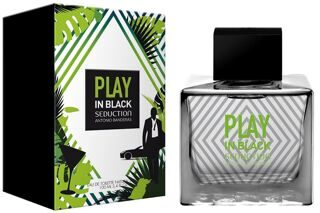 ANTONIO BANDERAS  PLAY  SEDUCTION  IN  BLACK  Eau de Toilette мужской 100мл