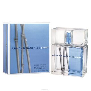 ARMAND BASI  IN  BLUE  SPORT  Eau de Toilette Мужской  50мл